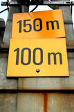150-100m Image libre de droits