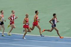 1500 метров бежать Стоковая Фотография