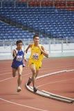 1500 mètres des hommes pour les personnes handicapées Image libre de droits