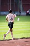 1500 mètres des hommes pour les personnes handicapées Photo stock