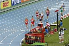 1500-Meter-Männer Stockfotografie