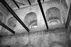 1500's het gotische Binnenland van het Fort. Polen. Stock Foto's
