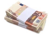 15000 euros Arkivfoto