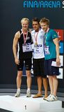 1500m vrije slag Royalty-vrije Stock Fotografie