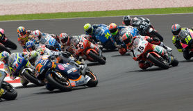 150cc riders at 2007 Polini Malaysian Motorcycle G stock photo