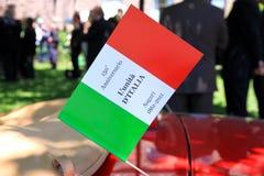 150th γενέθλια Ιταλία Στοκ Εικόνες