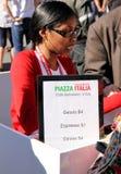 150th Anniversaire de l'Italie Image libre de droits