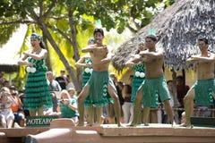 1522 danzatori maori Fotografie Stock