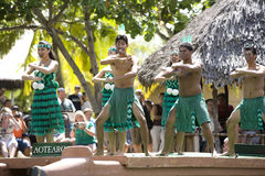 1522 maori dansare Arkivfoton