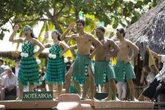 1526 maori dansare Royaltyfri Fotografi