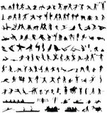 153 Sportsilhouettes Stock Images
