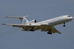 154航空tatarstan图波列夫 免版税库存照片