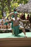 1543 танцора маорийского Стоковая Фотография