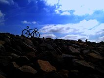 155017-J-Bike Royalty Free Stock Images