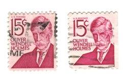 15c背景邮票我们空白 库存例证