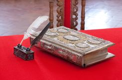 15st сбор винограда столетия книги Стоковые Фотографии RF