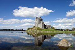 15th century Dunguaire Castle in Kinvara, Ireland. View of the 15th century Dunguaire Castle, Galway Bay in Kinvara, Ireland Stock Photos
