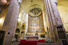 Free 15th Century Retable Of The Old Cathedral Of Salamanca Stock Images - 78228564