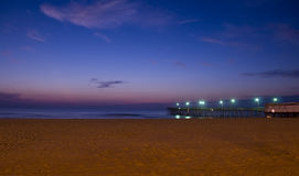 15th Street Pier Pre-Dawn Stock Images