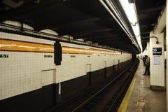 15th Street Underground Rail Station Royalty Free Stock Image