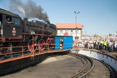 16ème Défilé 2009 de locomotive à vapeur - OL 49 Photo stock
