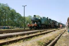 16ème Défilé 2009 de locomotive à vapeur - train 5521 Images stock