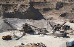 16个坑沙子 免版税库存照片