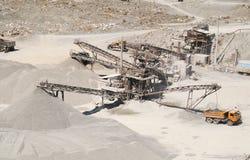 16个坑沙子 库存照片