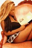 16个女孩牙买加年轻人 库存照片