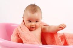 16个婴孩浴 免版税库存照片