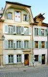16个房子老瑞士 免版税库存照片
