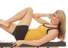 16健身女孩健康 库存图片