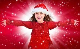 16圣诞老人 库存图片