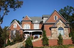 16块砖房子 免版税库存图片
