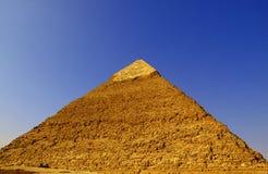 16座吉萨棉金字塔 免版税库存照片