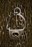 16挂锁 免版税库存照片