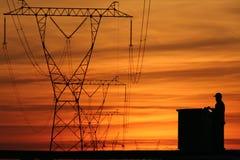 16构成能源 免版税库存照片