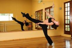 16舞蹈演员 库存图片