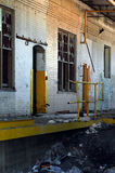 16 övergiven fabrik Royaltyfri Bild