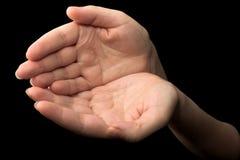 16 χέρια Στοκ Εικόνες