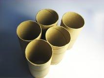 16 бумажных кренов Стоковое фото RF