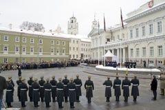 16-ое февраля vilnius Стоковые Фото