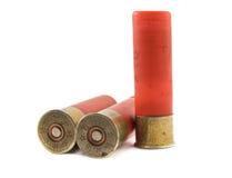 16 патронов калибра охотясь корокоствольное оружие Стоковые Фотографии RF