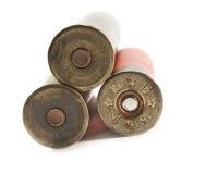 16 патронов калибра охотясь корокоствольное оружие Стоковая Фотография RF