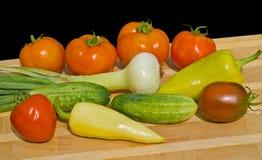 16 свежих овощей Стоковое Изображение