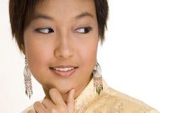 16个女孩马来语 免版税图库摄影