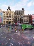 16 2008年augoust毕尔巴鄂重创的semana西班牙 图库摄影