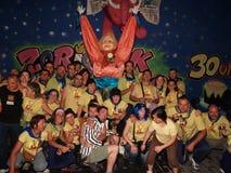 16 2008年augoust毕尔巴鄂重创的semana西班牙 库存图片