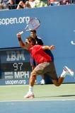 16 2008 Roger Federer otwarty, Obrazy Stock