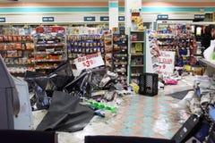 16 2010年城市击中新的9月龙卷风约克 图库摄影